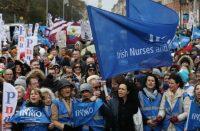nurses' strike